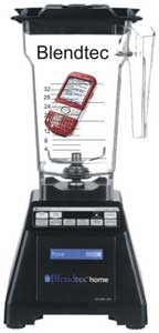 Phone in blender